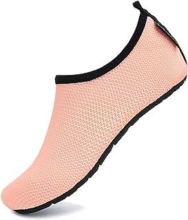 SAGUARO Chaussures Aquatiques Enfants Bébé Chaussures d'eau Plage Piscine Surf Sport Aquatique pour Filles Garçons GR.21-37