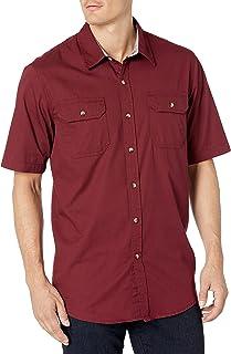 Wrangler Men's Short Sleeve Classic Twill Shirt