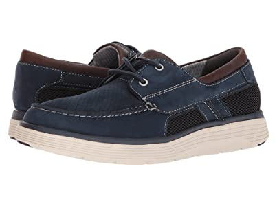 Clarks Un Abode Step (Navy Nubuck) Men