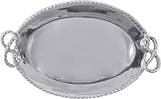 Mariposa 1681 Rope Oval Serving Tray