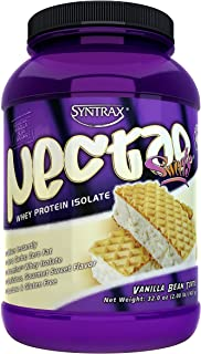 Syntrax Nectar Sweets, Native Grass-Fed Whey Protein Isolate, RBST-Free, Grass-Fed Whey, Mixes Instantly, Lactose & Gluten...