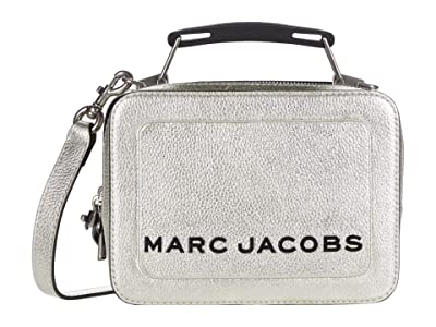 Marc Jacobs The Box 20 Satchel (Platinum) Handbags