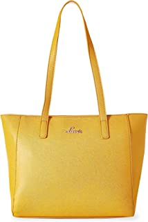 Lavie ADUMU Women's Tote Bag color:Ocher (HCES450050M2)