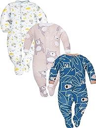 Garçons Filles Pyjama Bébé Grenouillère ABS -Taill