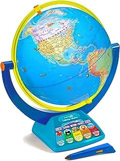 Educational Insights GeoSafari Jr. Talking Globe Featuring Bindi Irwin, Globes for Kids, Interactive Globe with Talking Pe...