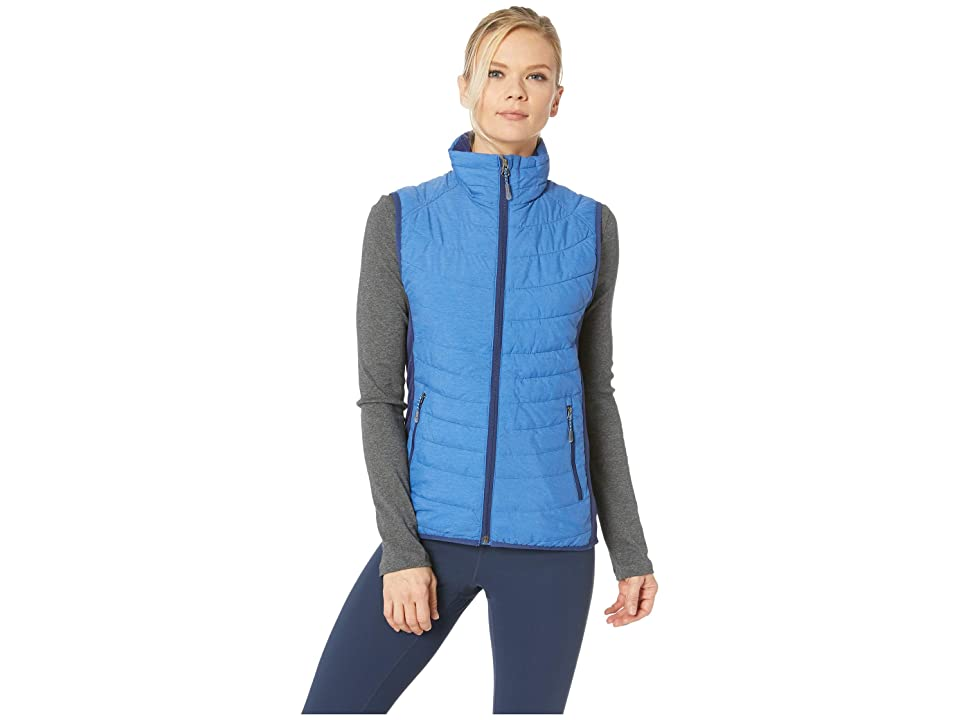 White Sierra Zephyr Insulated Vest (Cobalt) Women