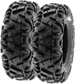 SunF 26x9-14 26x9x14 ATV UTV Tires 6 PR Tubeless A033 POWER I [Set of 2]