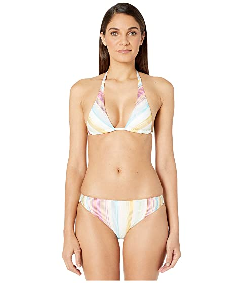 Missoni Mare Striped Knit/Printed Lycra Two-Piece Swimsuit