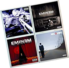 Eminem Coasters : Set of 4 Tile Coasters : Album covers, band coasters