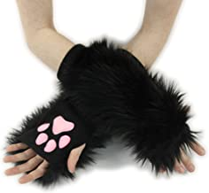 Pawstar Classic Paw Warmers Fingerless Glove Paws Furry Cat Fox Cosplay