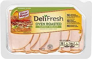 Oscar Mayer Deli Fresh Turkey Breast Shaved Oven Roasted (9 oz Package)