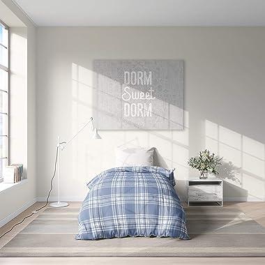 Unknown1 Soho Plaid Light Blue College Dorm Comforter Blue