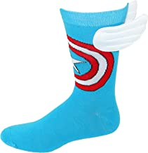 Bioworld Captain America w/Wings Crew Socks