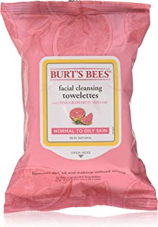 Burt's Bees Facial Cleansing Towelettes Pink Grapefruit - 30 Count