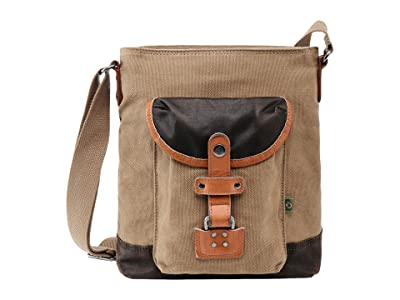 TSD Brand Tapa Canvas Crossbody Bag