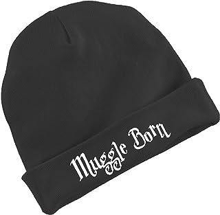 4e7aae36c BeeGeeTees MUGGLE BORN Funny Wizard Baby Cap