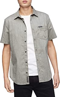 Men's Short Sleeve Oxford Button Down Shirt