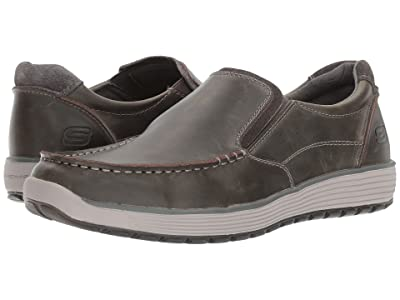 SKECHERS Classic Fit Venick (Charcoal) Men