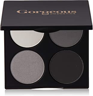 Gorgeous Cosmetics Hollywood Smokey Eyes Eyeshadow Palette for Women, 15.2g