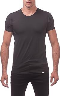 Pro Club Men`s Performance Compression Short Sleeve T-Shirt, Black, 3X-Large
