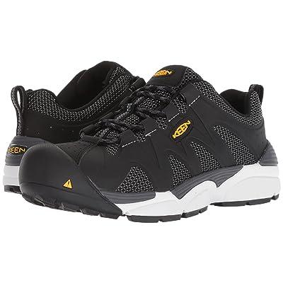Keen Utility San Antonio Aluminum Toe (Black/Grey) Men