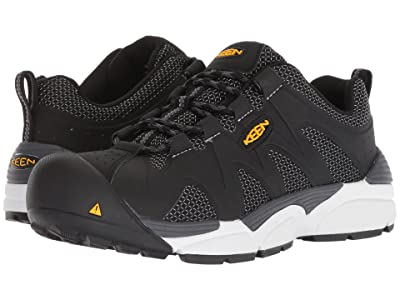 Keen Utility San Antonio Aluminum Toe (Black/Grey) Men