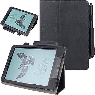 VOVIPO skóra PU folio pokrowiec ochronny inteligentne etui z funkcją automatycznego uśpienia/budzenia kompatybilne z czytn...