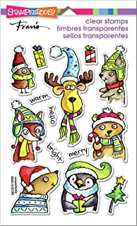 STAMPENDOUS Clear Stamps STAMPND WNTR PALS