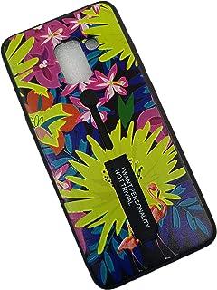 Samsung Galaxy A8 Plus case, Clip Belt Hidden Kickstand 3D Printed Hard PC Soft TPU fashion Cover Case - HS111