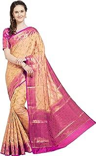 Indian Sarees for Women's Wedding Sari Festive Gift Wear Banarasi Art Silk Saree