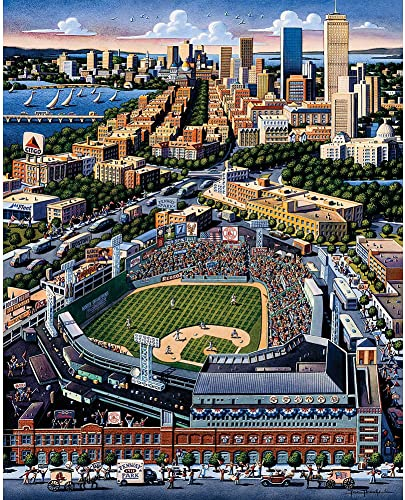 Fenway Park 500pc 16x20 Jigsaw Puzzle by Eric Dowdle by Americana Art (English Manual)