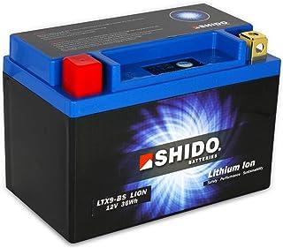 Batterie Shido Lithium LTX9 BS / YTX9 BS, 12V/8AH (Maße: 150x87x105) für Kawasaki Z1000 /ABS Baujahr 2012