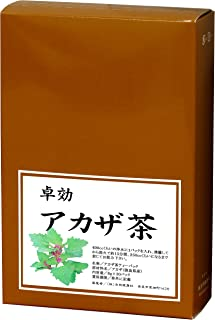 自然健康社 国産アカザ茶 8g×30パック 煮出し用ティーバッグ