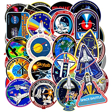 American Space Race 25 Stickers Laptop School Project 1969 Apollo 11 Scrapbook