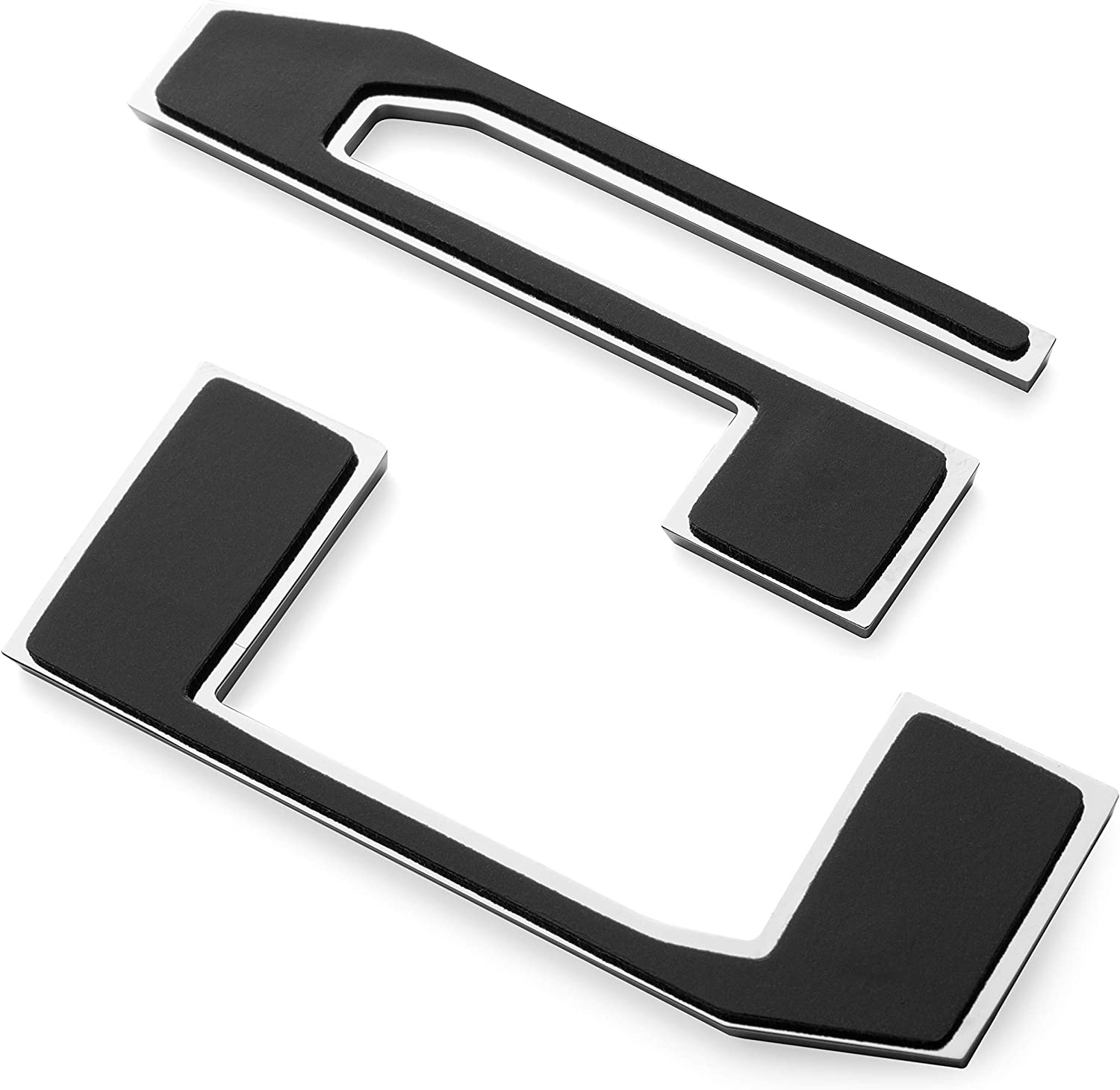 Gloss Black EyeCatcher Tailgate Insert Letters fits 2017-2019 Ford Super Duty