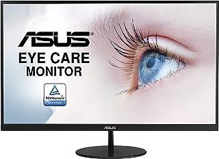 ASUS VL249HE 23.8inch Eye Care Monitor, IPS, 75Hz, Adaptive-Sync/FreeSync, Frameless, Slim, Wall Mountable, Flicker Free, ...