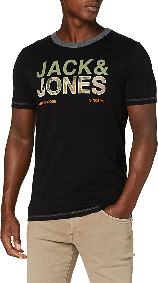 Herren Jcoart Tee Ss Crew Neck T-Shirt