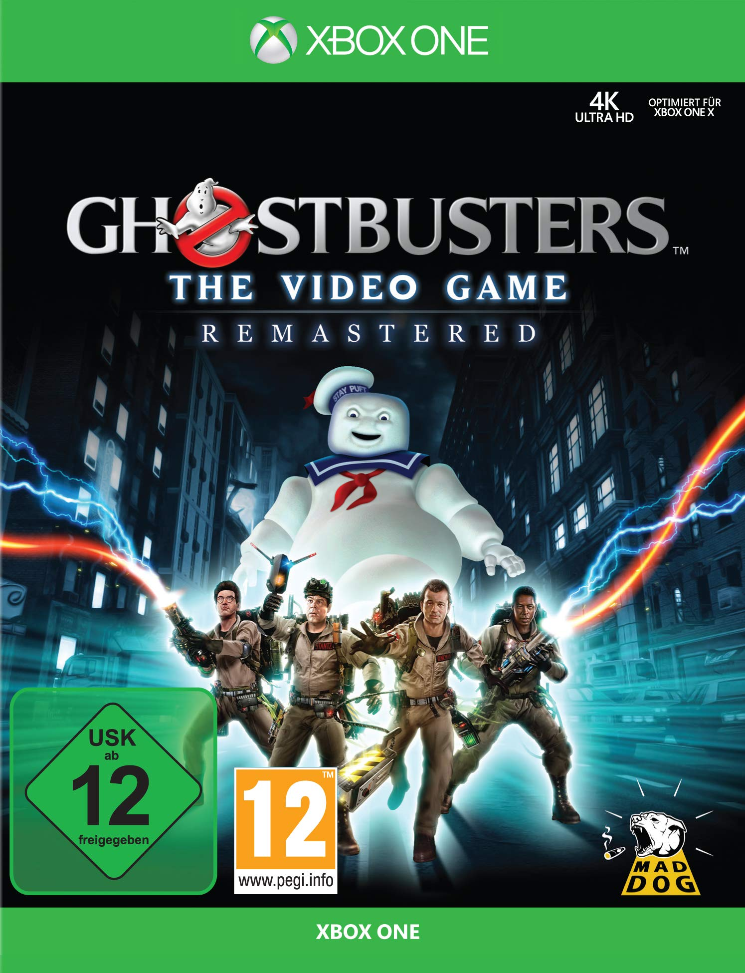 Ghostbusters The Video Game Remastered [Xbox One] [Importacion Alemania]: Amazon.es: Videojuegos