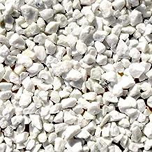天然石 砕石砂利 1-2cm 20kg スノーホワイト (ガーデニングに最適 白色砂利)