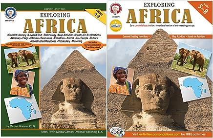 Mark Twain 404170 Exploring Africa, Grades 5 - 8