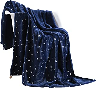 NANPIPER Throw Blanket, Ultra Soft Thick Microplush Bed Blanket, All Season Premium Fluffy Microfiber Fleece Throw for Sofa Couch (Twin Size 65