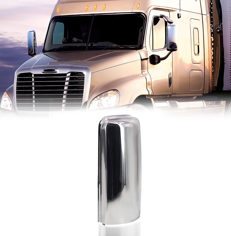 TORQUE 2008-2015 Freightliner Cascadia Chrome Cover 希少 Mirror 新作入荷 Truck
