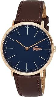 Lacoste Reloj Analógico para Hombre de Cuarzo con Correa en Cuero 2010871