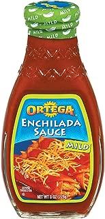 Ortega Enchilada Sauce, Mild Red, 8 Ounce (Pack of 12)