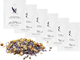 Teroforma 1pt FLORAL Infusion Blend for Alcohol & Spirits – Flavor Infuser Packets for Home Infusion (Party Pack, 6 Packets)
