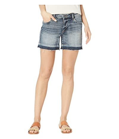 KUT from the Kloth Andrea Five-Pocket Shorts w/ Released Hem in Persist w/ Medium Base Wash (Persist w/ Medium Base Wash) Women