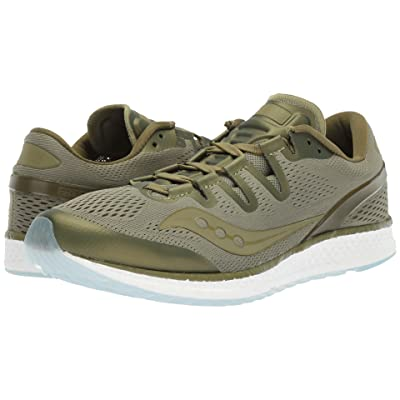 Saucony Freedom ISO (Olive) Athletic Shoes