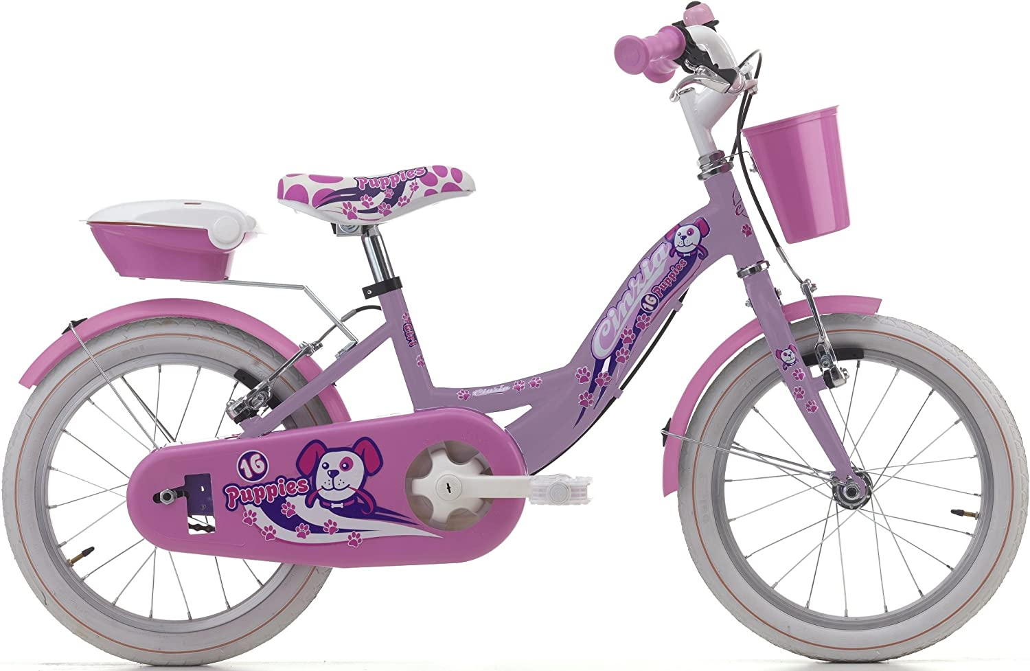 Bicycle Cycles Cinzia Puppies Girl's, steel frame, two sizes available