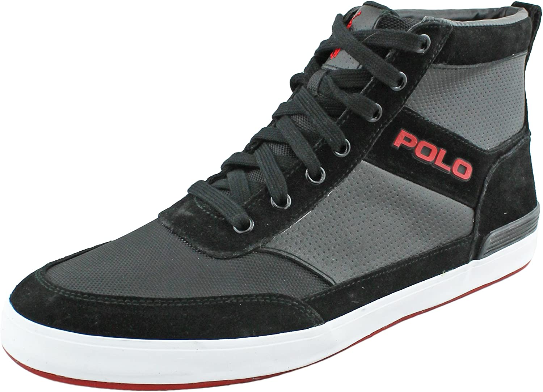 Ralph Lauren Lauren Lauren Polo Mans Nikolas High Top skor  Alla varor är specialerbjudanden