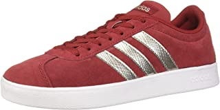 adidas Womens VL Court 2-0 Vl Court 2.0 Red Size: 5.5 US